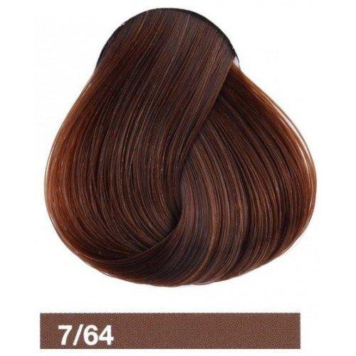 Крем-краска Lakme Collage 7/64, средний блондин коричнево-медный 27641