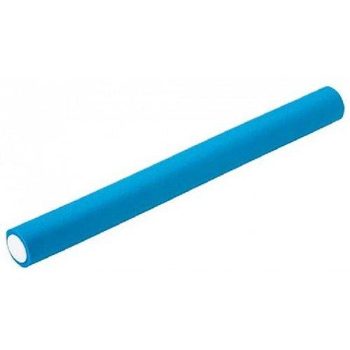 Бигуди-бумеранги Harizma голубые, 24x240 мм 10 шт. h10983-24