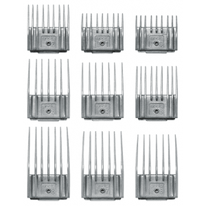 Набор насадок ANDIS для US-1 9 шт, 1,5-25 мм 12995