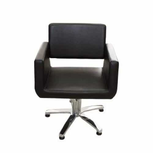 Кресло Имидж Мастер Бостон, гидравлика, черный, 600 Долеро, 1,40 К-БСТН6