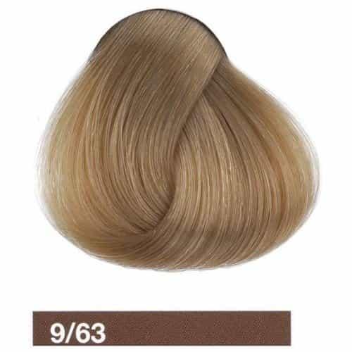 Крем-краска Lakme Collage 9/63, светлый блондин коричнево-золотистый 29631