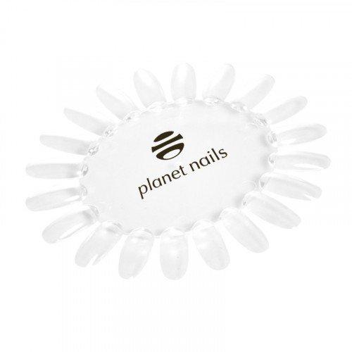 Палитра Planet Nails, для лаков, ромашка, прозрачная с логотипом 19287