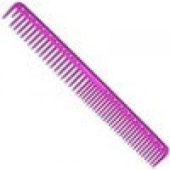 Расческа для стрижки редкозубая Y.S.Park 333 розовая