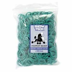 Латексные резиночки Show Tech зеленые 1000 шт 65STE070