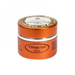 Гель-паста для чеканки Planet Nails, Vintage Gel, gold, 5 г 11273