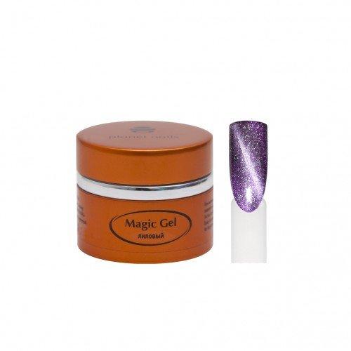 Гель Planet Nails, magic Gel, магнитный, лиловый, 5 г 11707