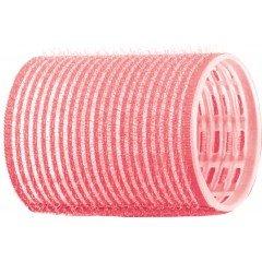 Бигуди-липучки Dewal розовые, 44 мм, 12 шт/уп R-VTR2