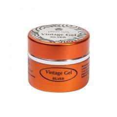 Гель-паста для чеканки Planet Nails, Vintage Gel, silver, 5 г 11275