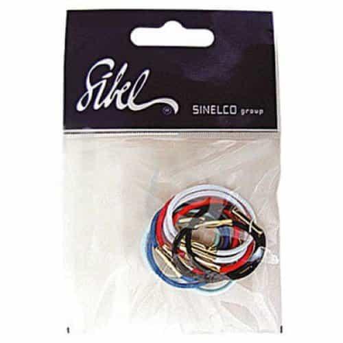 Резинки для волос Sibel  10 шт. 9311233