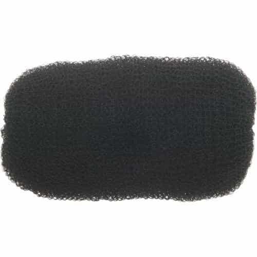 Валик для прически Dewal сетка, черный 12 см HO-5114 Black