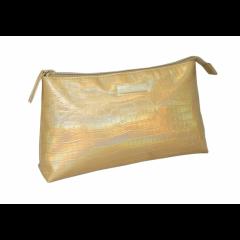 Косметичка Hairway Gold 26х6х15 см 32431