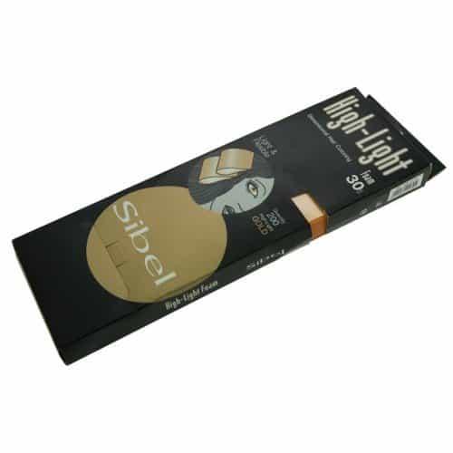 Бумага для мелирования Sibel золото 30 х 8,5 см 4333151