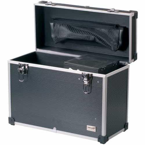 Чемодан для парикмахерских инструментов DEWAL, пластик,серый  45х20,5х36 см