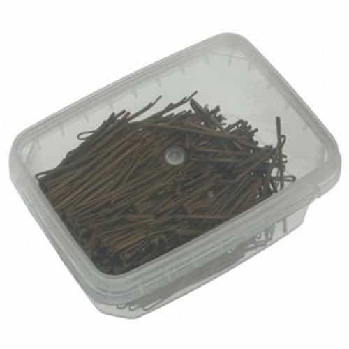 Невидимки Sibel гладкие бронзовые, 50 мм, 500 гр 940015115