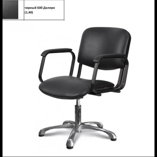 Кресло Имидж Мастер Контакт+ гидравлика - 2 шт. черное, 600 Долеро, 1,40 в коробке К-КН+ /2600