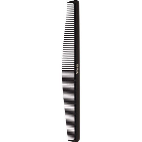 Расческа рабочая Dewal MAGNESIUM комбинированная, черная 19,3 см CO-M-2002