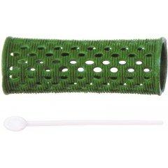 Бигуди пластиковые Dewal зеленые, 26 мм, 12 шт/уп RMHR3
