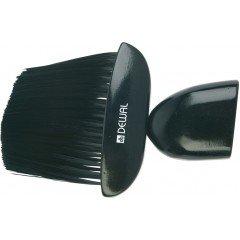Кисть-сметка Dewal, плоская, ручка-дерево, искусственная щетина NB1442