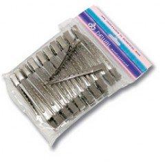 Зажимы для волос Dewal металлические, 6,5 см 36 шт/уп. CL2405