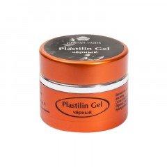Гель-пластилин Planet Nails, Plastilin Gel, черный, 5 г 11284