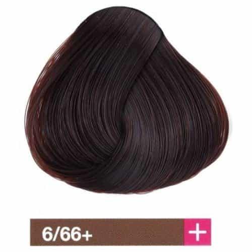 Крем-краска Lakme Collage+ Intense 6/66+, темный блондин интенсивный коричневый яркий 26661