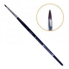 Кисть Planet Nails, для дизайна, овальная, короткая, № 2 21440