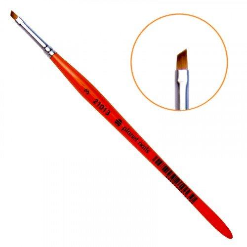 Кисть Planet Nails, для китайской росписи из синтетического волоса, скошенная, № 3 21013