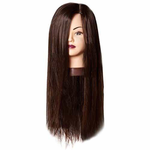 Голова учебная Harizma, шатенка, искусственные волосы, 50-60 см h10825