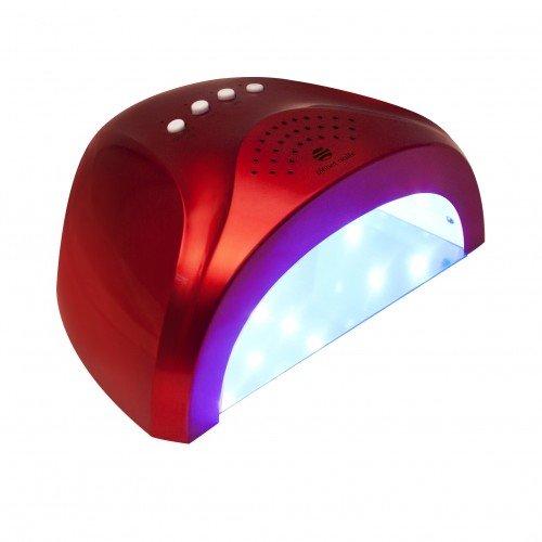 """LED/УФ лампа 24/48W """"Sunlight"""" красная 10195"""
