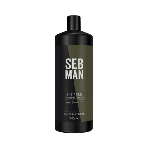 Освежающий шампунь для увеличения объема Seb Man The Boss 1000 мл 99350029776