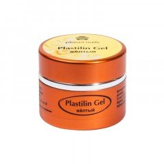 Гель-пластилин Planet Nails, Plastilin Gel, желтый, 5 г 11279
