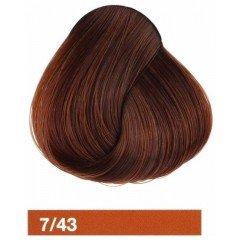 Крем-краска LAKME COLLAGE 7/43, средний блондин медно-золотистый 27431