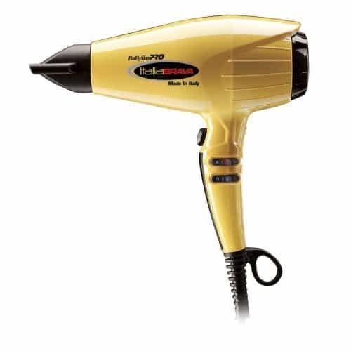 Купить Фен BaByliss Pro Italia Brava желтый 2400 Вт