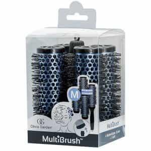 Набор брашингов для укладки волос Olivia Garden MultiBrush 36 мм 4 шт со съемной ручкой в комплекте