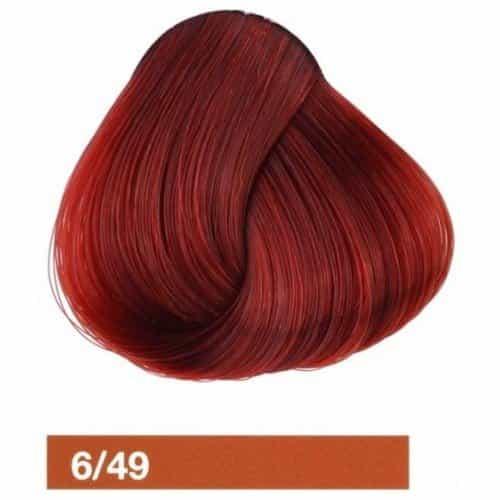 Крем-краска Lakme Collage 6/49, темный блондин медно-красный 26491