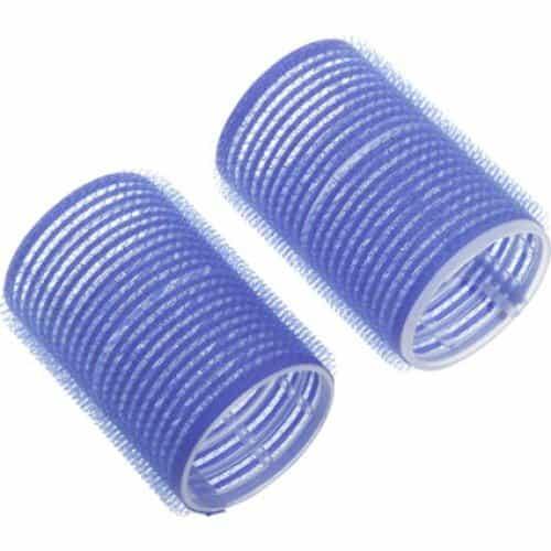 Бигуди-липучки Dewal синие, 52 мм 6 шт/уп R-VTR14