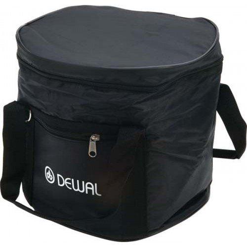 Сумка для парикмахерских инструментов DEWAL,полимерный материал, черная 27х23х25,5 см