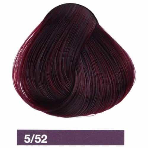 Крем-краска Lakme Collage 5/52, светлый шатен махагоново-фиолетовый 25521
