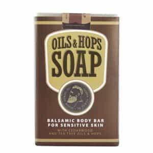 Бальзамическое мыло для тела с маслами и хмелем The Chemical Barbers OILS&HOPS SOAP ТСВ09