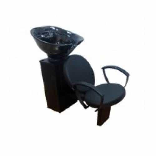 Кресло мойка Имидж Мастер Стил, черное, 600 Долеро, 1,40 К-СТЛм600
