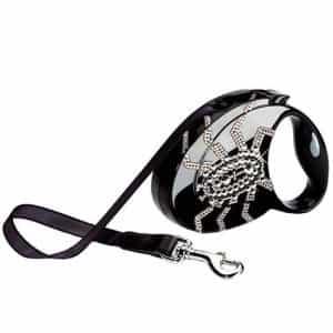 Поводок-рулетка для собак Flexi Glam Spider Black