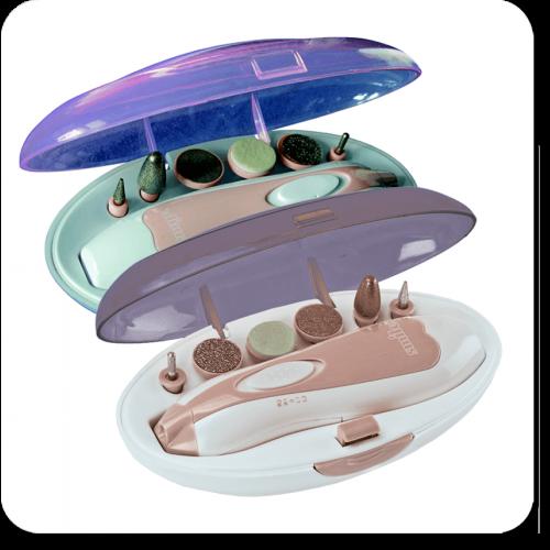 Маникюрный набор Smile MPS 3405 (Фиолетовый)