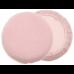 Губка макияжная Eurostil, круглая, розовая 01360