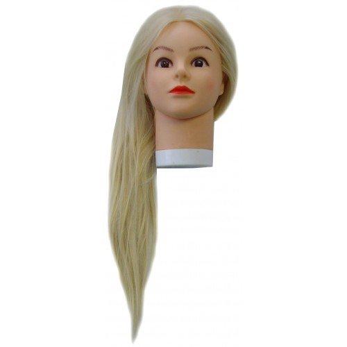 Голова учебная Harizma, блондинка, искусственные волосы, 50-60 см h10822