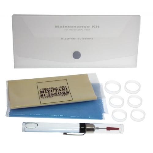 Купить набор для ухода за ножницами (9 предметов) Mizutani Kit-M