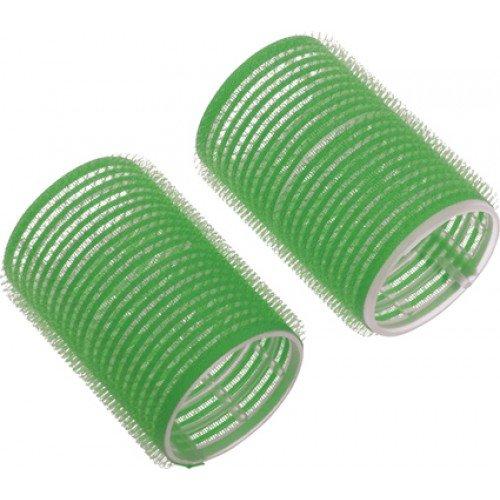 Бигуди-липучки Dewal зеленые 20 мм, 12 шт/уп R-VTR8