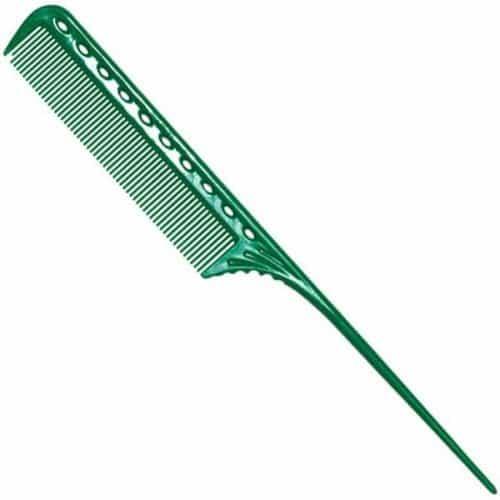 Расческа с хвостиком Y.S.Park 101 зеленая