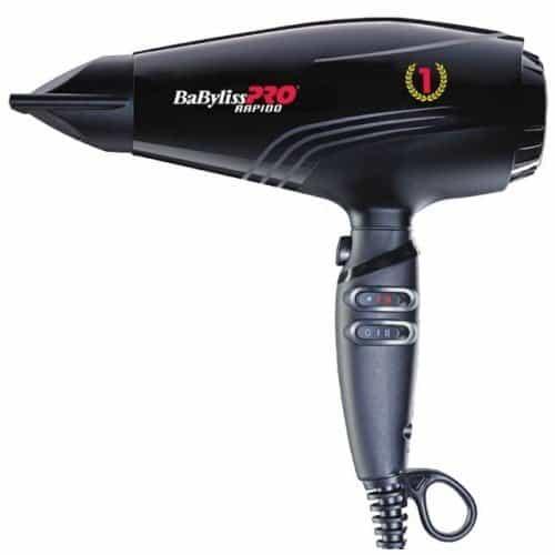 Фен Babyliss Pro Rapido черный 2200 Вт BAB7000IE