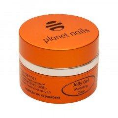 Гель-желе Planet Nails, Modeling Clear Jelly Gel, конструирующий, прозрачный, 30 г 11071