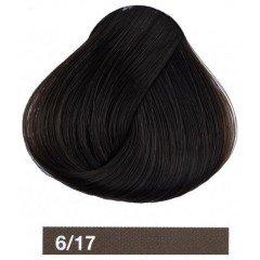 Крем-краска LAKME COLLAGE 6/17, темный блондин пепельный 26171